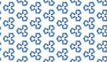 Geometric pattern blue gradient background vector illustration