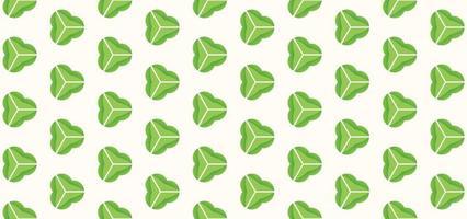Geometric pattern green gradient background vector illustration