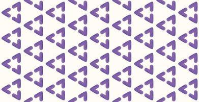 heart pattern purple gradient background vector illustration