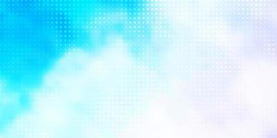Light Pink, Blue vector background with bubbles.