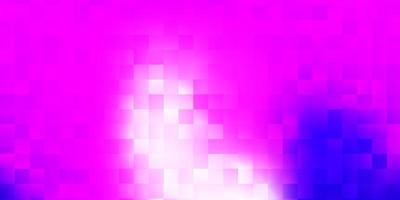 Light purple, pink vector texture with memphis shapes.