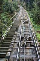 Sant Joan Funicular railway. Montserrat. Spain. photo