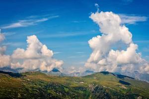 Beautiful landscape of the Austrian Alps, Europe. photo