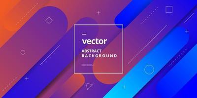 Minimalist Gradient Shape Background Design vector