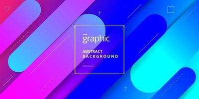 Minimalist Gradient Shape Composition Background Design vector