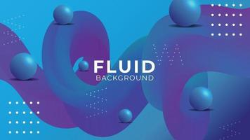 Wave Fluid Abstract Background Design vector