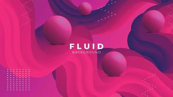 Fluid Wave Abstract Background Wallpaper vector
