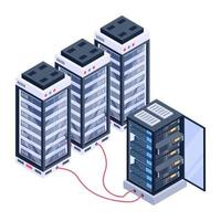 Storage Room and Centers vector