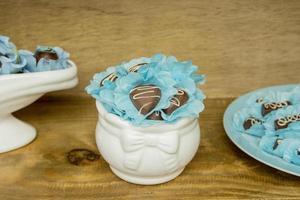 dulces para fiesta de cumpleaños foto