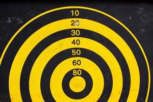 target for dart game photo