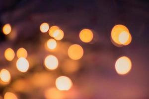 luces borrosas de fondo foto