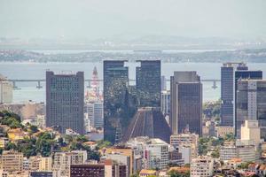 buildings in the center of rio de janeiro photo