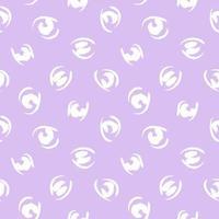 Purple Animal Leopard Seamless Pattern Background vector
