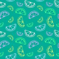 Lemon seamless illustration vector