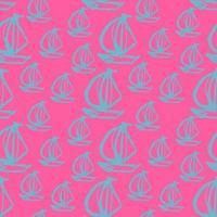 sailboat seamless illustration vector
