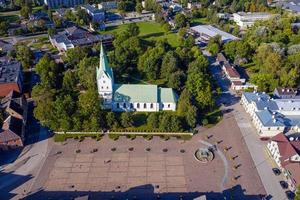 Dobele Evangelical Lutheran Church in Dobele, Latvia photo
