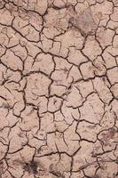 fondo del suelo del desierto, cambio climático, calentamiento global foto