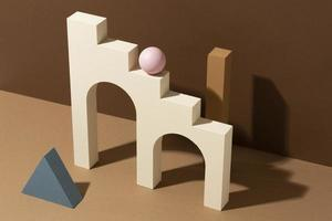 The assortment abstract 3d design elements photo