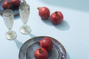 The high angle glasses pomegranate photo