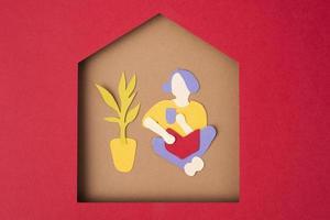 The Paper style isolation arrangement photo