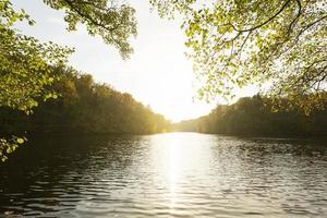 The peaceful beautiful landscape daylight photo