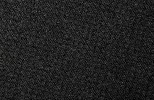 fondo de textura de tela negra foto