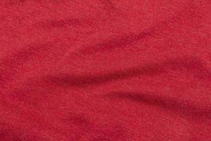 fondo de textura de tela roja foto
