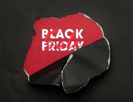 concepto de venta de viernes negro foto