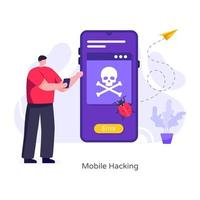 Mobile Hacking and Error vector