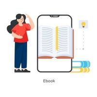 E Book learning vector