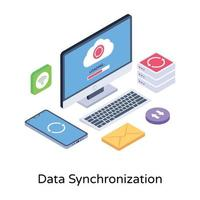 Data Synchronization and Backup vector