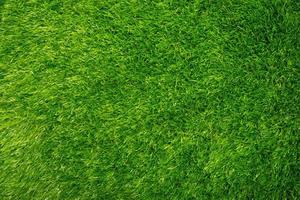 artificial green grass texture background photo