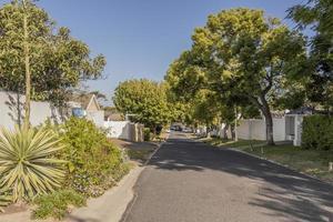 Calle en Claremont, Ciudad del Cabo, Sudáfrica foto