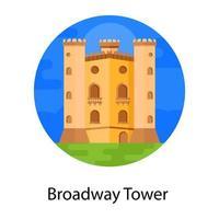 Broad Way Tower vector
