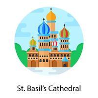 Catedral de San Basilio vector