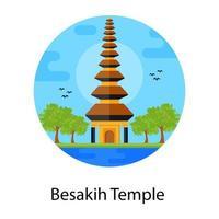 templo de adoración baisakhi vector