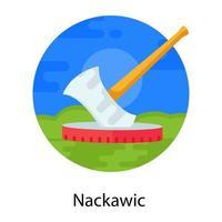 Nackawic Canadian Landmark vector