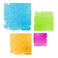 Abstract Watercolor Splash Element Vector Illustration