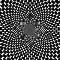 Retro Vintage  Hypnotic Background.Vector Illustration vector