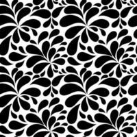 Fondo floral de patrones sin fisuras para bodas y cumpleaños. ilustración vectorial vector