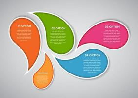 Infographic Template for Business Vector Illustration
