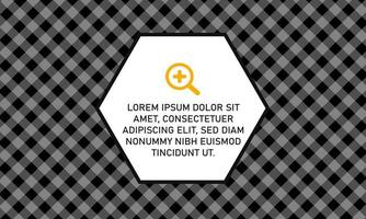 Modern Black and White Lined Background With Stripes vector