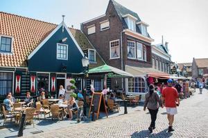 Summer view of Volendan, The Netherlands, 2016 photo