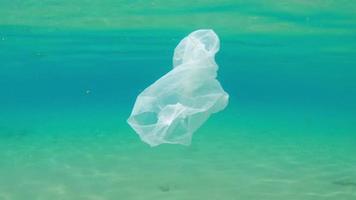 plásticos marinhos livres de lixo no oceano - conservação do oceano video