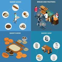 Bakery Bread Design Concept Vector Illustration