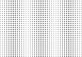 Black and white overlay dot pattern. Memphis pattern simple halftone gradient pattern. Monochrome fading wave background. vector