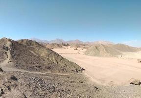 Day in the mountain desert. Egypt photo