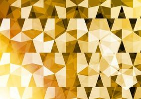 Golden polygon. Abstract background. Vector illustrator