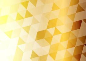 Abstract background. Golden hexagon . Vector illustrator