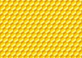 Abstract Golden beehive background. Geometric pattern design. Vector illustrator